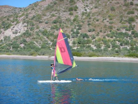 Jean Windsurfing