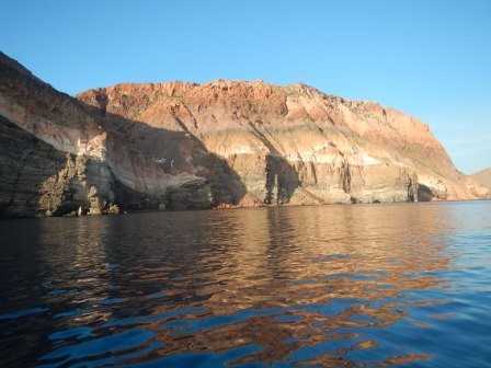 Backside of Isla Partida