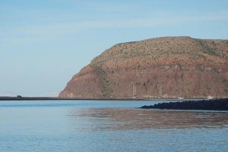 Caleta Partida Passage