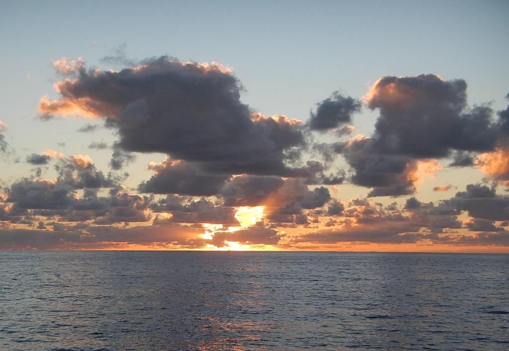 Sunrise Underway