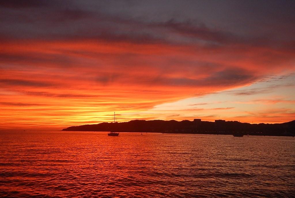 Back in La Cruz - Sunset
