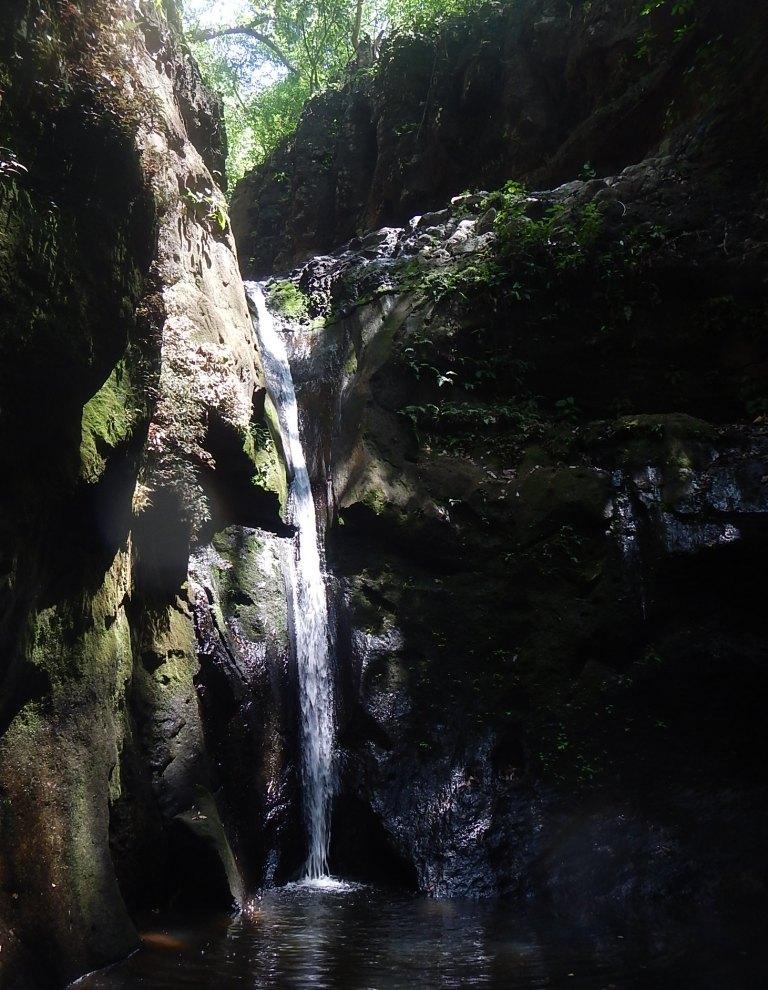 Suchitoto's El Cubo Waterfall