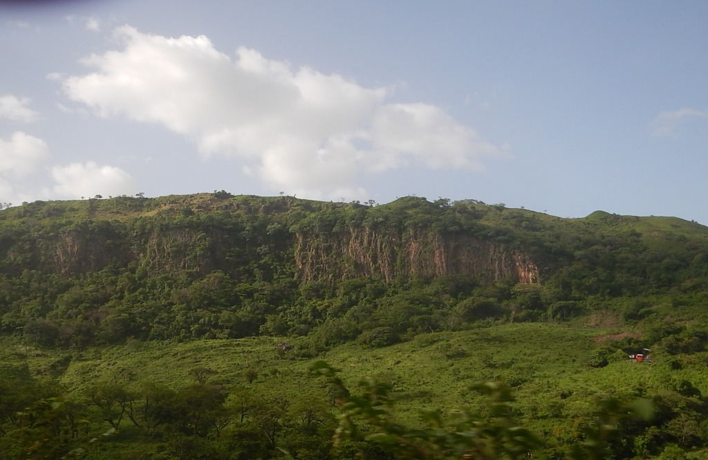 Cliffs and Greenery