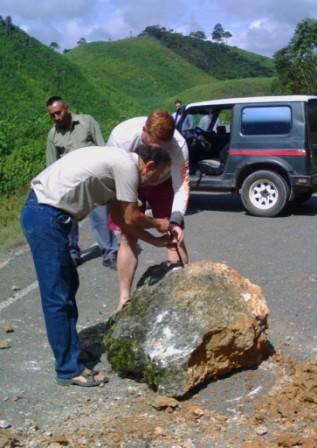 Removing Rockfall