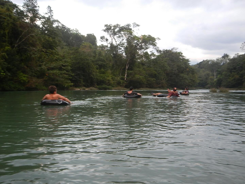 Tubing the Rio Cahobon