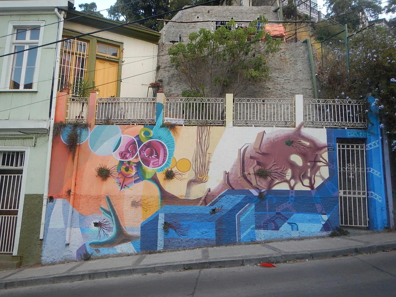 Valparaiso Mural