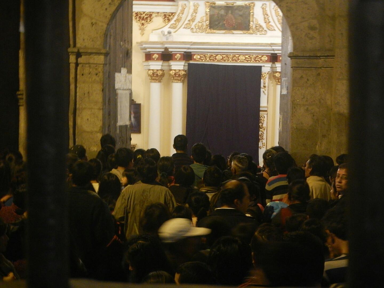 Semana Santa Crowds