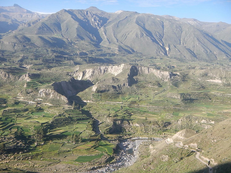 View into Colca Canyon