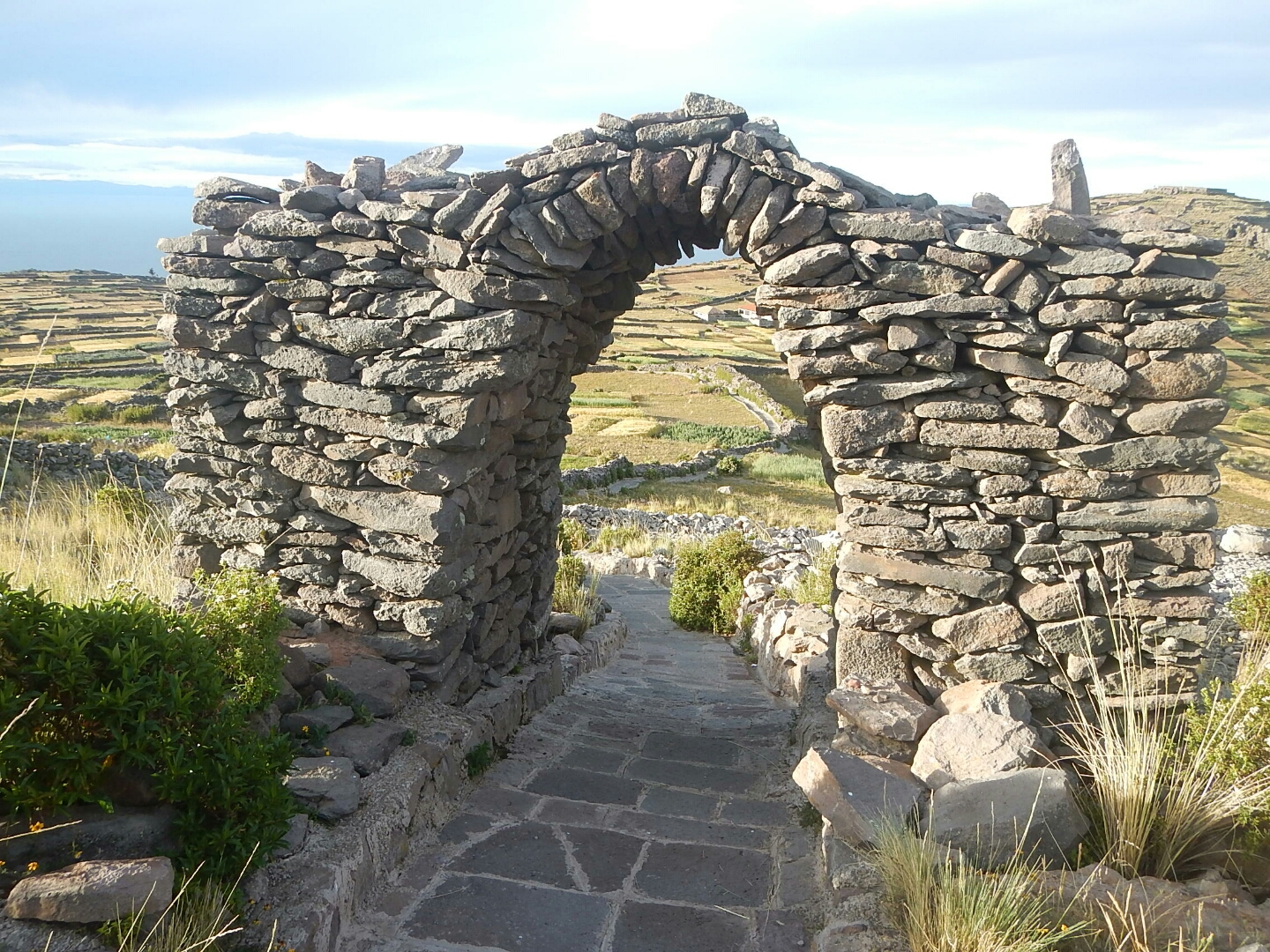 Archway of Pachamama Temple