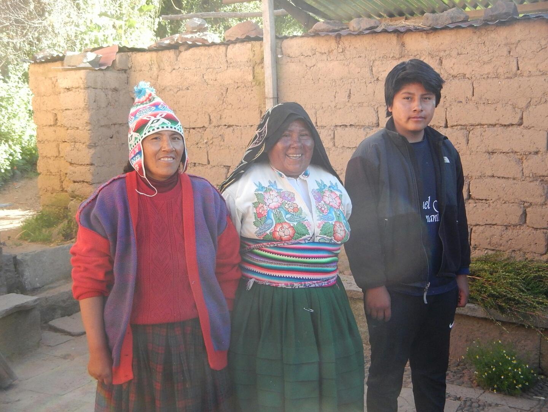 Host Family on Amantani