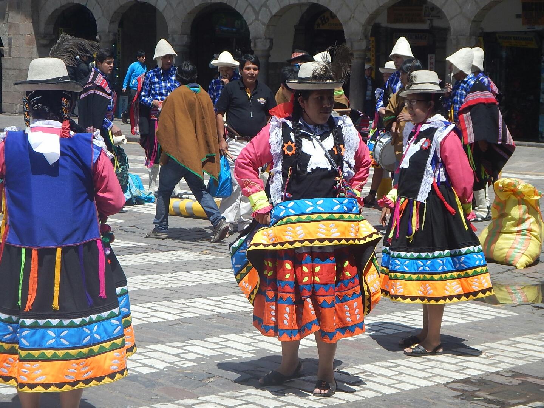 Traditional Dresses for Cusco Parade