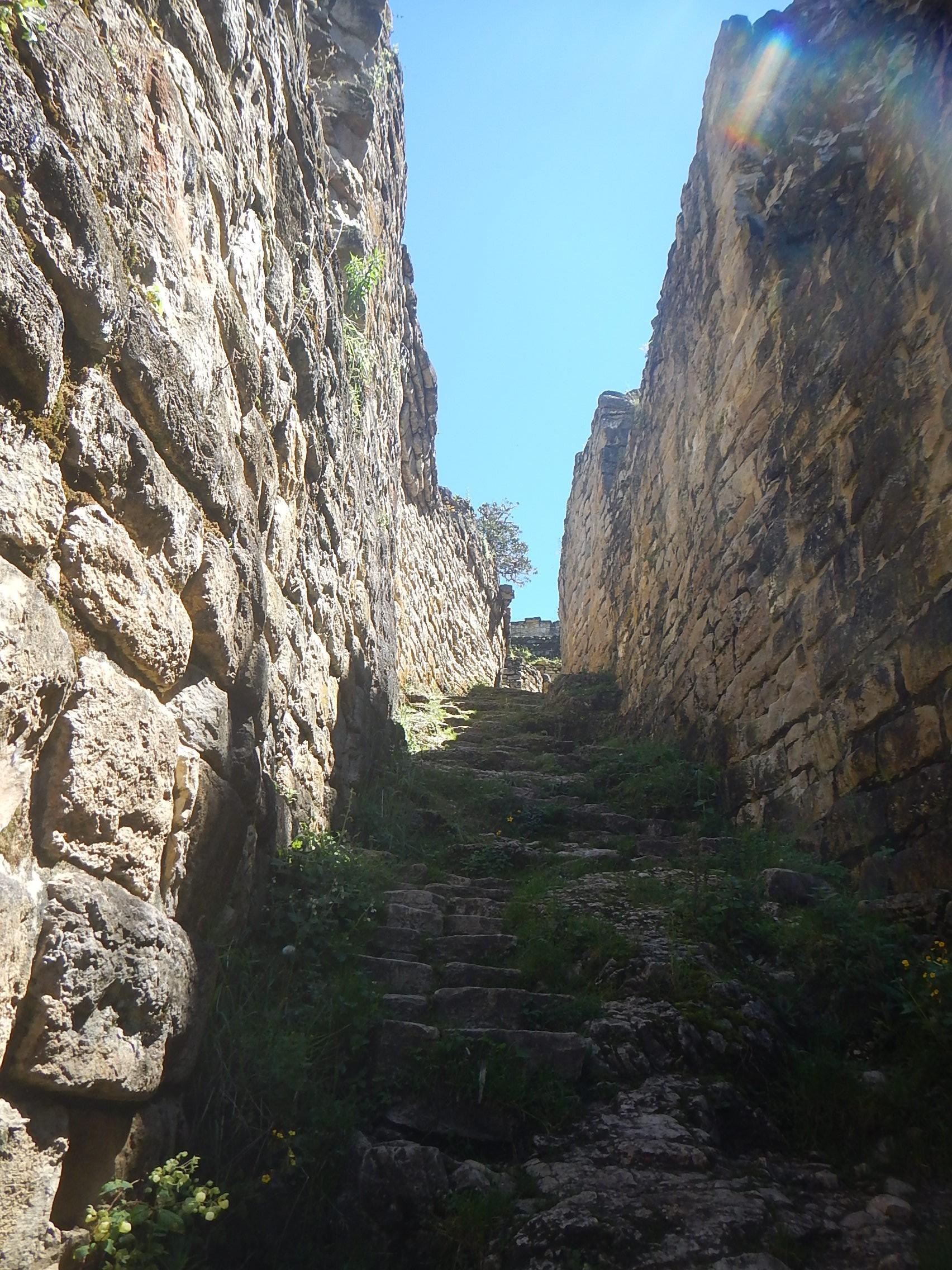 Entrance to Kuelap