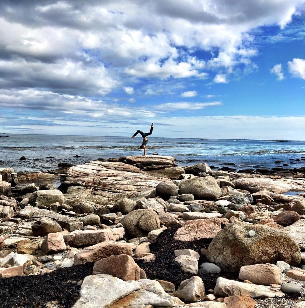 Jesse at Acadia